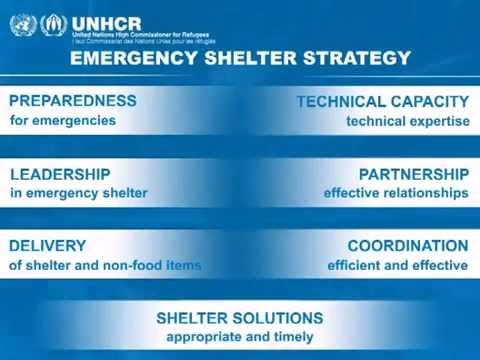 UNHCR: UN Refugee Agency - Emergency Shelter Response