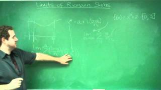 Limits of Riemann Sums