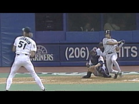 Jeter's first RBI in the Major Leagues