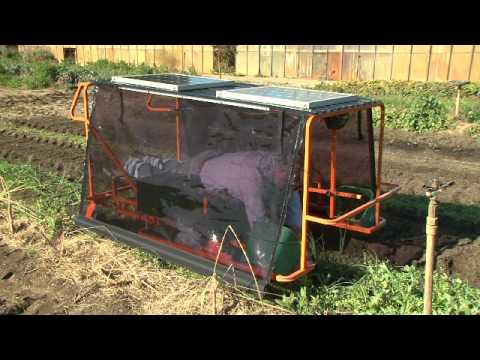 Wunda Weeder - The New Solar Powered Weeding Machine