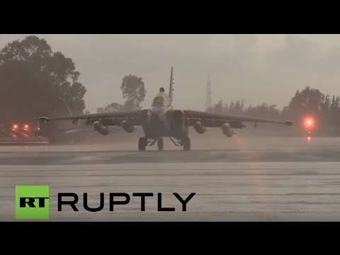 LIVE: Russian jets head home as military withdrawal begins