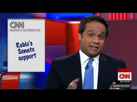 Rubio's Senate support