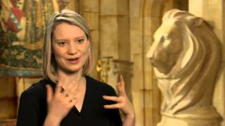 Alice Through the Looking Glass: Mia Wasikowska Behind the Scenes Movie Interview