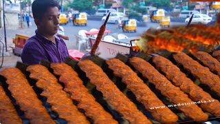 شيخ كباب | Sheek Kebab | شارع الطعام |  Arabic Seekh Kebab | Street Food