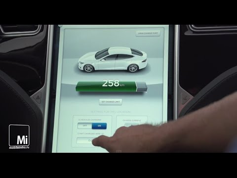Tesla Model S. Гаджет на четырех колесах.