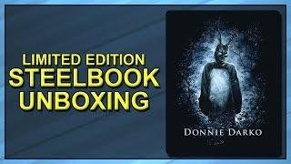Donnie Darko Limited Edition Blu-ray SteelBook Unboxing