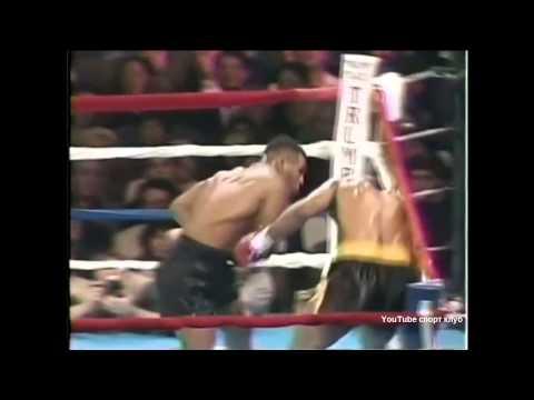 Бокс. Майк Тайсон - Алекс Стюарт.  Mike Tyson vs Alex Stewart