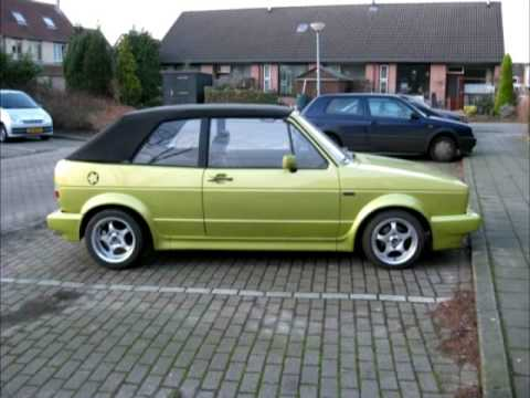 volkswagen golf 1 cabriolet uit 1980 youtube. Black Bedroom Furniture Sets. Home Design Ideas