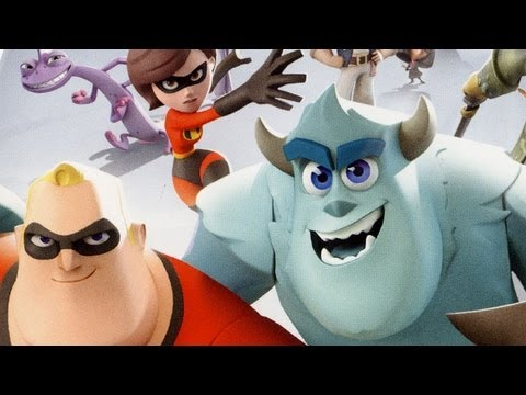 Classic Game Room - DISNEY INFINITY review part 1