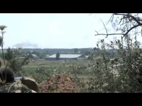 Ukraine war Donetsk: Terrorists shoot the village with grenade cup discharge Donbass