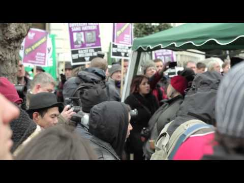 Solidarity with Greece - Anti-fascist movement protest - 19/1/2013