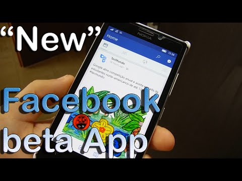 """""""New"""" Facebook App for Windows 10 Mobile Devices"""