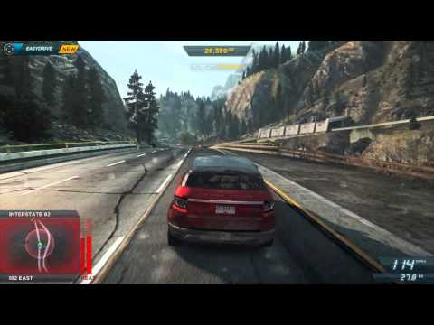 Need for Speed Most Wanted 2012 Ranger Rover Evoque Police Chase 01