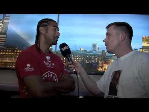 DAVID HAYE INTERVIEW FOR iFILM LONDON ON MANUEL CHARR- MATCHROOM &amp; SKY (APOLOGIES FOR CUT ENDING)