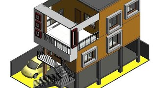 30X40 West face house plan in Corner site || 2 Bedrooms || 1 study room || 3 complexes