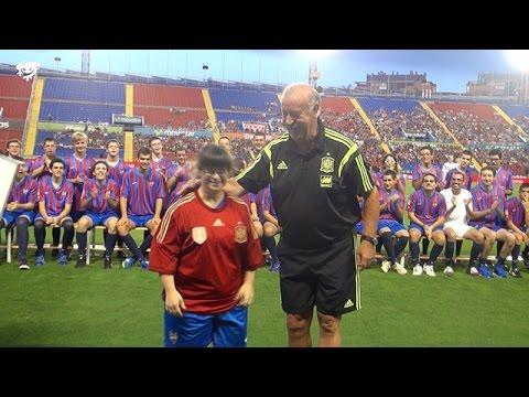 Vicente del Bosque, nombrado Entrenador de Honor del Levante UD EDI
