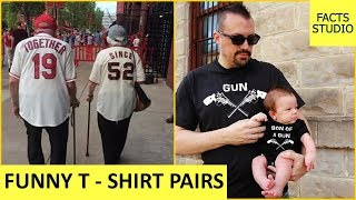 Cute And Funny T Shirt Pairs | Funny Photos | Facts Studio