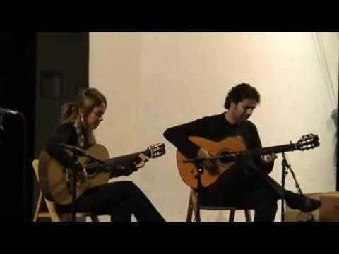 LAURA GONZALEZ Y JOSE ROJO GUITARRA FLAMENCA