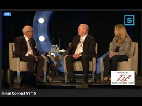 Dolly Lenz & Rupert Murdoch @ Inman Connect