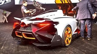 Lamborghini Egoista SOUND - Start Up and REVS (1 of 1) !!