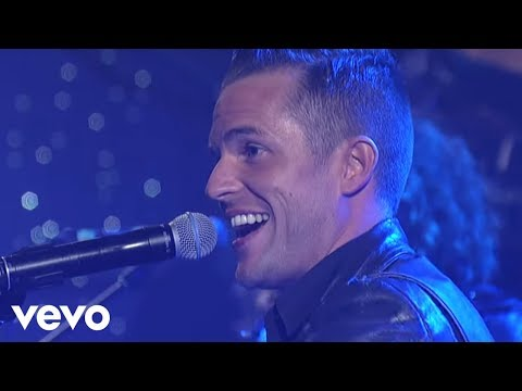 The Killers - Smile Like You Mean It (Live @ Letterman, 2012)