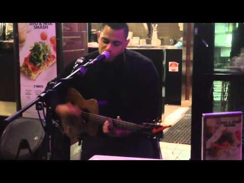 Diamonds By Rihanna - Yacob Singing Live At Coffee Club Eagle St Brisbane video