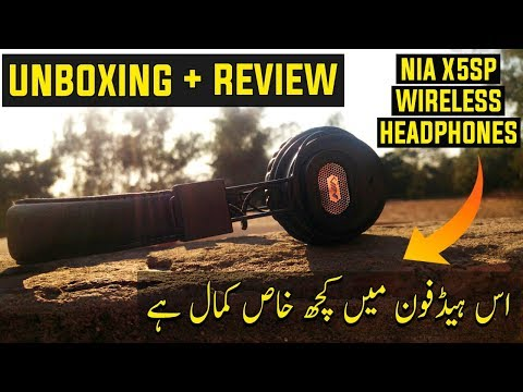 nia wireless headphones review and unboxing - best wireless headphones under 2000