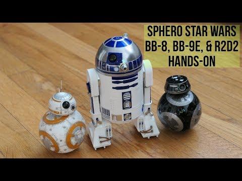 Sphero Star Wars BB-8, BB-9E, & R2D2 hands-on