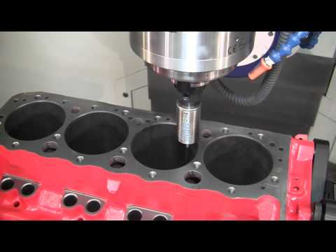 Combo 5-axis CNC Cylinder Head & Block Machining center: The CENTROID A560 Port/Block