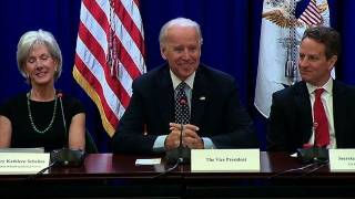 Vice President Biden Holds a Campaign to Cut Waste Cabinet Meeting