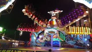 Very Dangerous Ride In Globel Village 2015 Dubai..Speed Wave...amazing