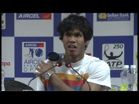 ACO 2013 Somdev Devvarman Press Conference