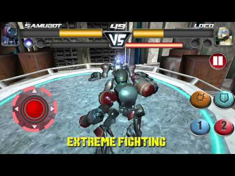 Steel Street Fighter 🤖 Robot boxing game APK Cover
