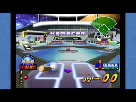 Super Monkey Ball 2: Party Games - Monkey Baseball