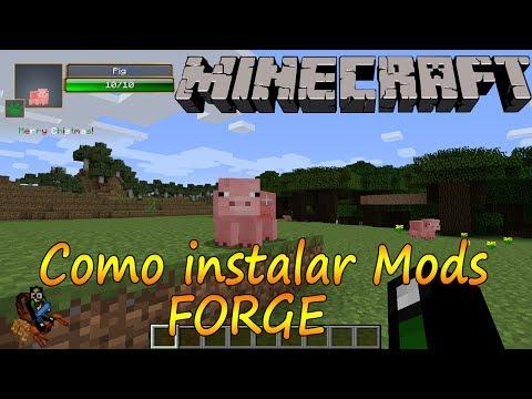 Minecraft 1.7.2 - Como Instalar Mods Forge /