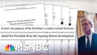 See Mueller's Damning Criminal Obstruction Evidence Against Trump | The Beat With Ari Melber | MSNBC