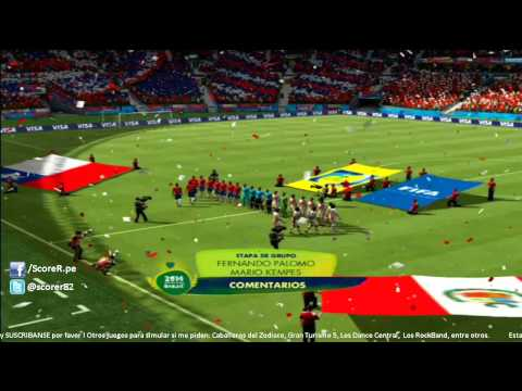 EA SPORTS 2014 FIFA WORLD CUP - Kits Faces Plantilla de Peru @ PS3