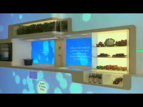 Whirlpool Green Kitchen Future appliances (french)