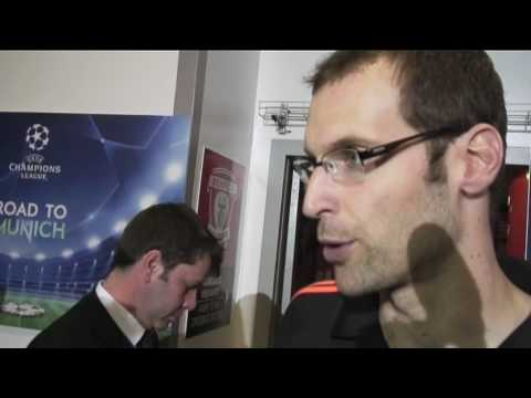 Champions League - Benfica 0-1 Chelsea, goalkeeper Petr Cech proud