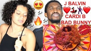 Cardi B, Bad Bunny & J Balvin  ''I Like It'' 2018 American Music Awards REACTION!! Jaz & Alex