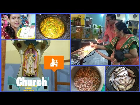 DIML#Jack Pot Offer||Going to Church With My Family||Nethallu Curry||