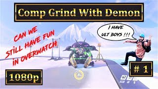 Overwatch - Comp Grind With Demon  - English 1080p