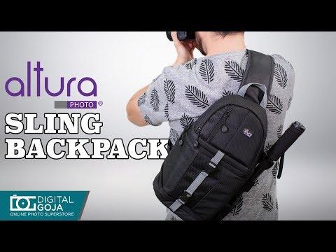 Altura Photo Camera Sling Backpack for DSLR Cameras | REVIEW