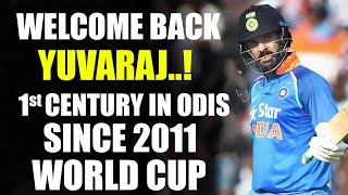 India v England, 2nd ODI: Yuvraj Singh scores first century since 2011 World Cup  NH9 News