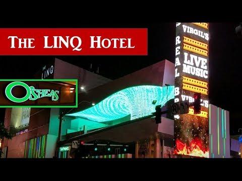 The LINQ Hotel & Casino, O'SHEAS Casino Tour..2017