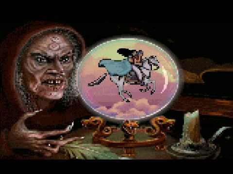 PRINCE OF PERSIA 2 Final Level (16/16) Classic [ MS-DOS Version ] 16th level - Prince vs. Jaffar