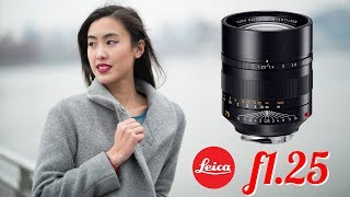 Testing the $12,800 Leica 75mm NOCTILUX f1.25 lens