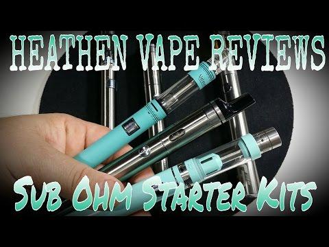 SUB OHM PEN Starter Kits   Vclouds Subego•Ecigator GTP•Vape Only Aura mini