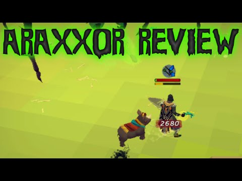 Araxxor Boss Opinionated Review [runescape 2014] video