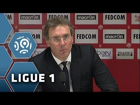 Monaco - PSG (1-1) - La Conférence d'après-match de Laurent Blanc - 2013/2014